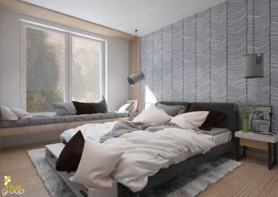 Projekt sypialni │ Bielsko-Biała