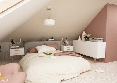 Projekt sypialni │ Żory