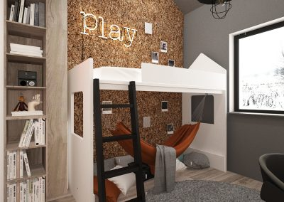 Projekt pokoju dla chłopca │ Gliwice