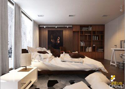Projekt sypialni │ Katowice