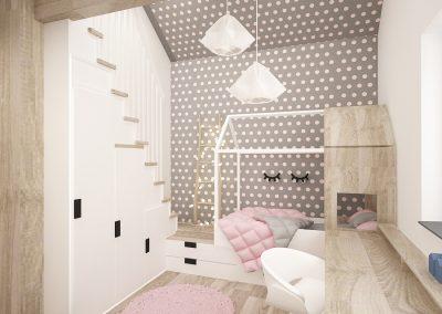 Projekt pokoju dla dziewczynki │ Gliwice
